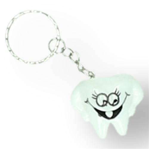 Sleutelhanger vrolijke tand