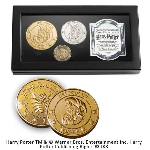 Gringotts Bank drie munten box