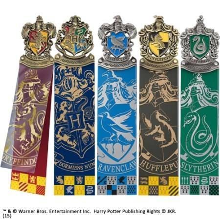 Harry Potter - schild boekenlegger set