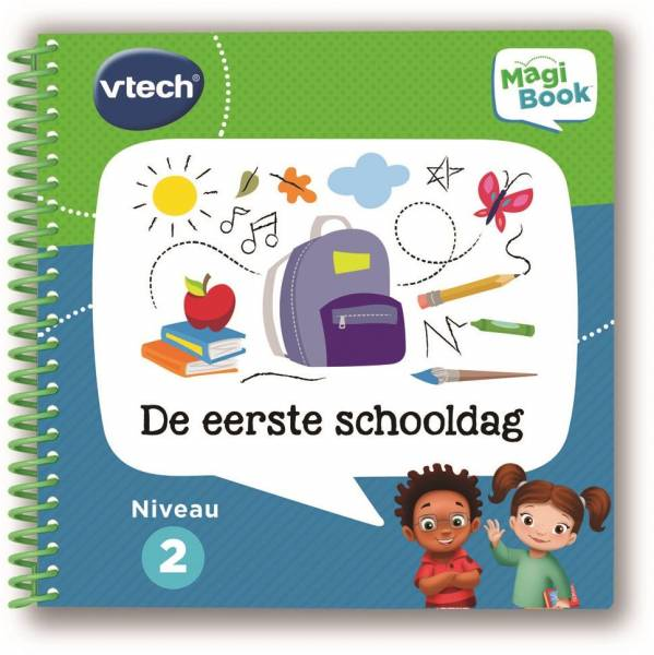 MagiBook Vtech: eerste schooldag 4+ jr (80-481223)