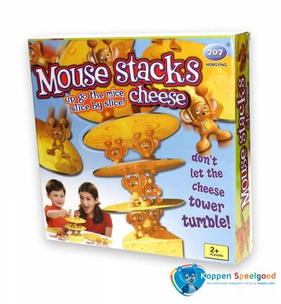 Spel kaastoren met muizen