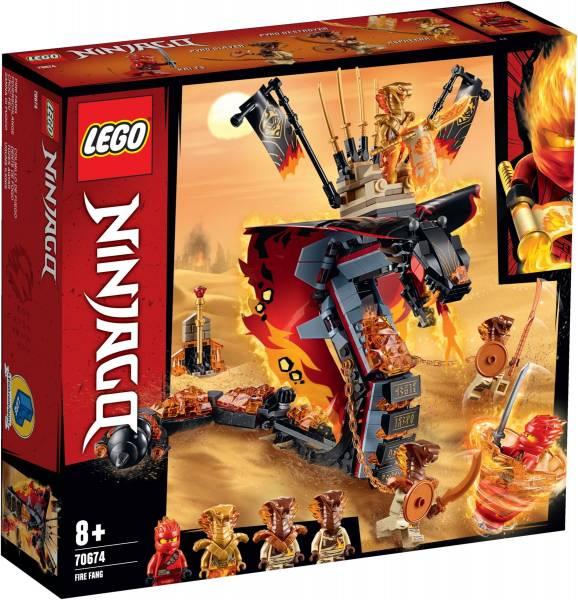 Vuurtand Lego (70674)