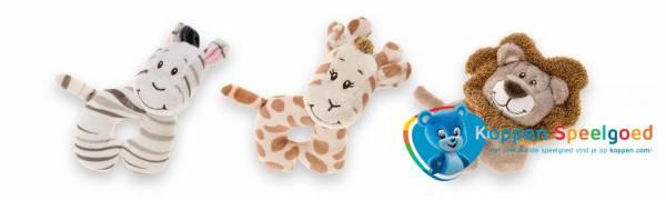 Baby rammelaar rond wilde dieren