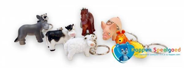 Sleutelhanger boerderij dieren