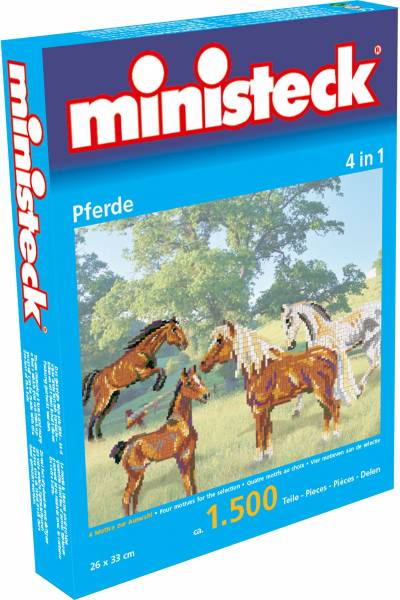 Paarden Ministeck 4-in-1 1500-delig