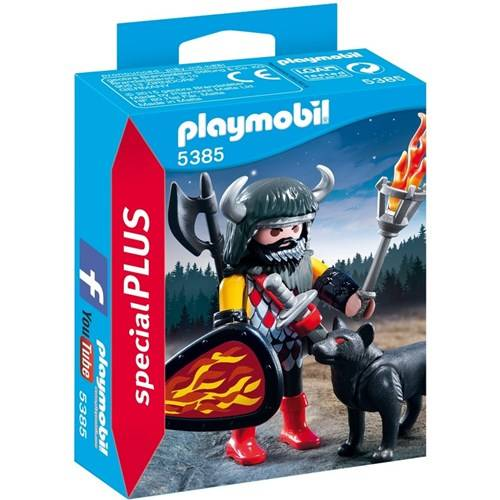 PLAYMOBIL Wolfskrijger - 5385