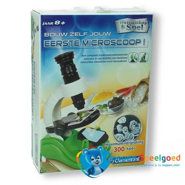 Clementoni Bouw zelf jouw eerste Microscoop 8+