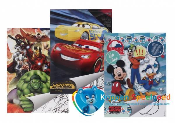 Disney kleurboek A4 jongen