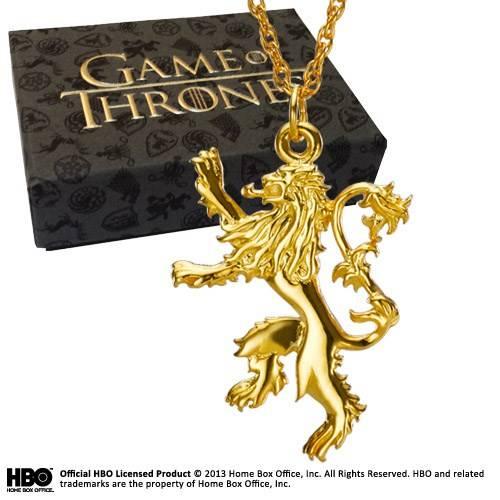 Game of Thrones - Goud verguld sterling zilver Lannister