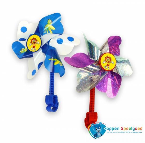 Windmolen voor kinderfiets