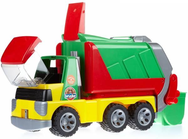 Vuilniswagen Bruder Roadmax (20002)