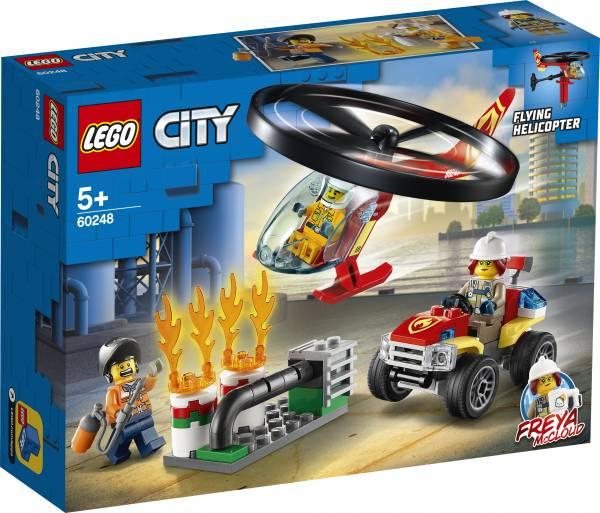 Brandweerhelikopter reddingsoperatie Lego (60248)