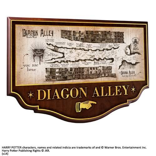 Diagon Alley muurplaat