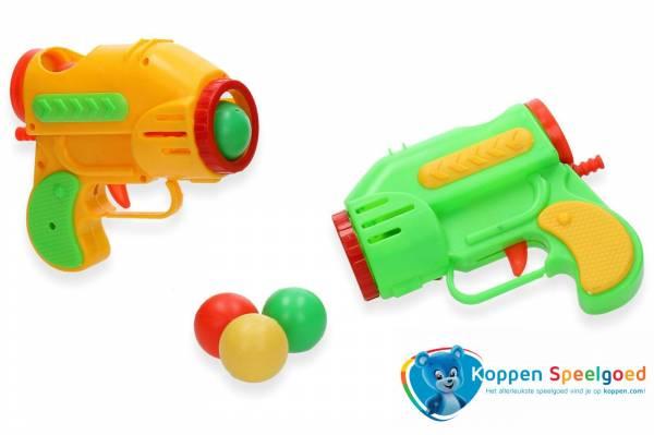Ballenpistool inclusief ballen