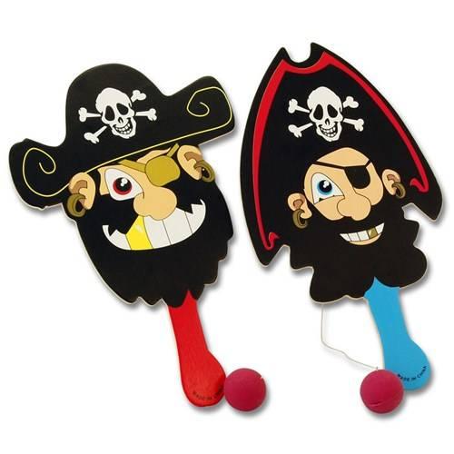 Batje met bal piraat, hout