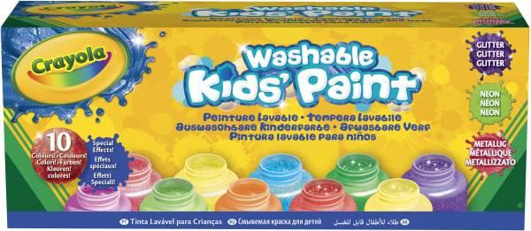 Verfpotjes special Crayola: 10 stuks (54-2395)