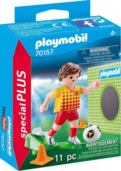 Voetballer met doel Playmobil (70157)