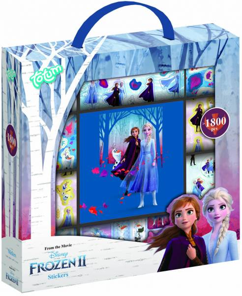 Sticker box Frozen 2 ToTum: 1800+ stickers (680715 )