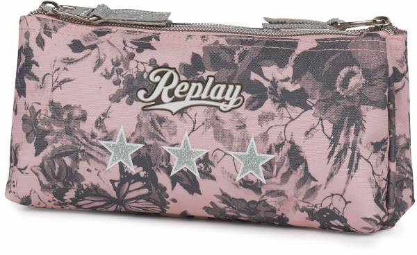 Etui Replay Girls pink: 10x21x6 cm