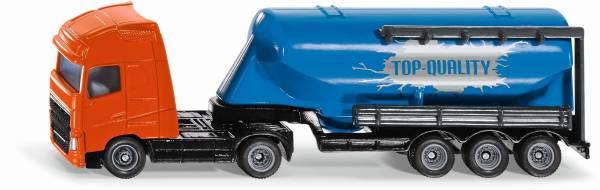 Vrachtwagen met silo oplegger SIKU