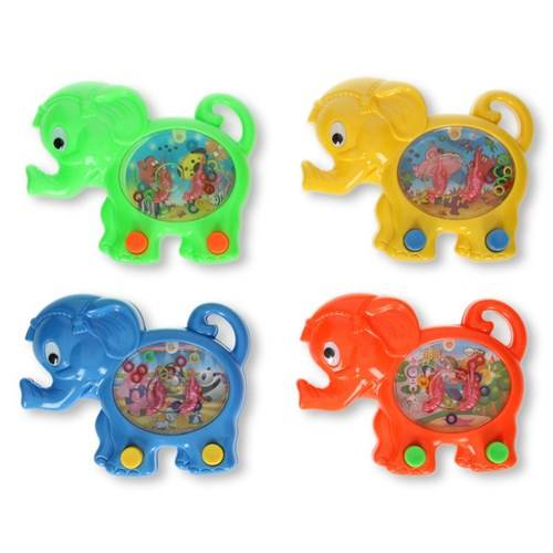 Waterspel gekleurde olifant