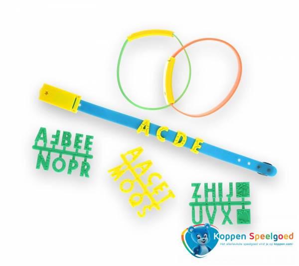 Maak je eigen armband met letters