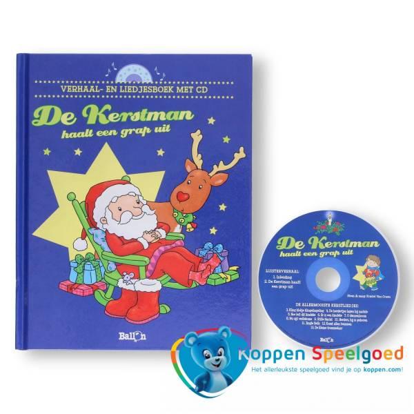 Boek De Kerstman haalt een grapje uit