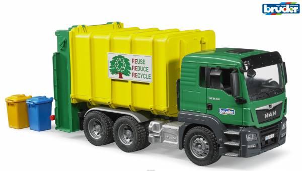 MAN TGS Rear vuilniswagen Bruder