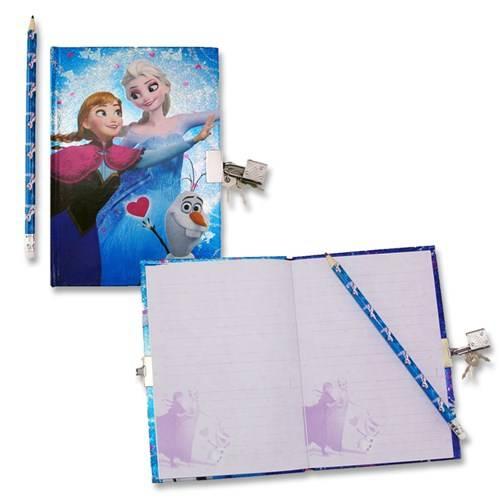 Disney Frozen dagboek met slotje