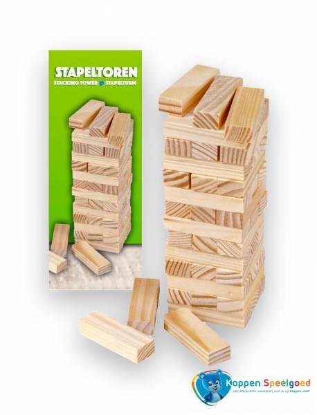 Stapeltoren, hout