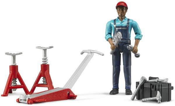 Garage werker met accessoires Bruder (62100)