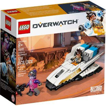 Tracer vs Widowmaker Lego (75970)
