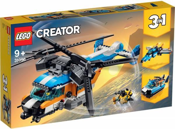 Dubbel-rotor helikopter Lego (31096)
