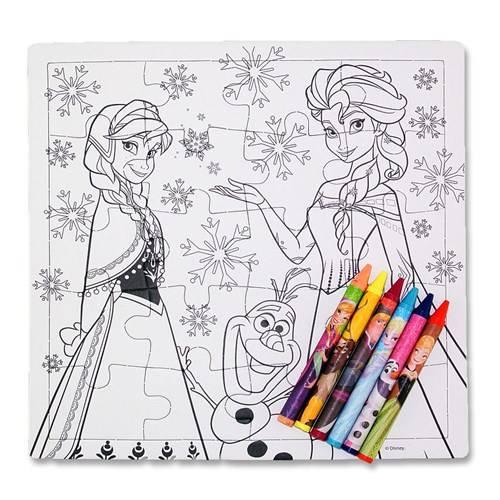 Disney Frozen Inkleurpuzzel 21 x 21 cm