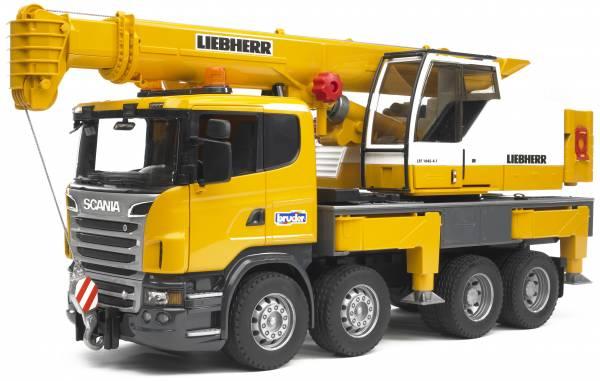 Bruder Scania R Telescoopkraanwagen 03570