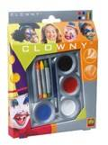 SES Aquaschmink set 4+3 kleuren Clown