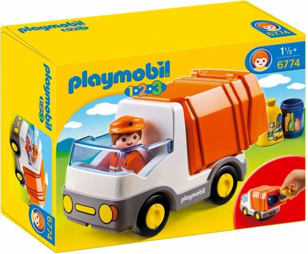 Vuilniswagen Playmobil (6774)