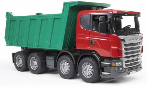 Bruder Scania R Vrachtwagen Met Kiepbak 03550