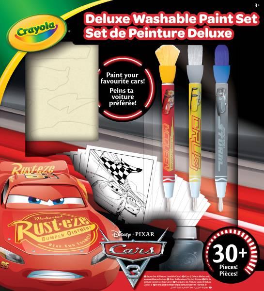Verfset deluxe Crayola: Cars 3 (CC040044)