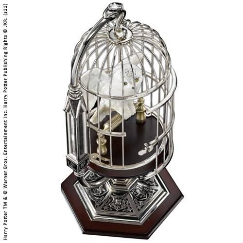 Miniatuur Hedwig in kooi