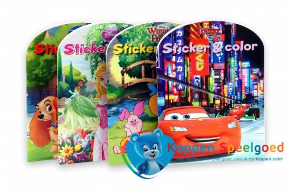 Disney sticker- kleurboek