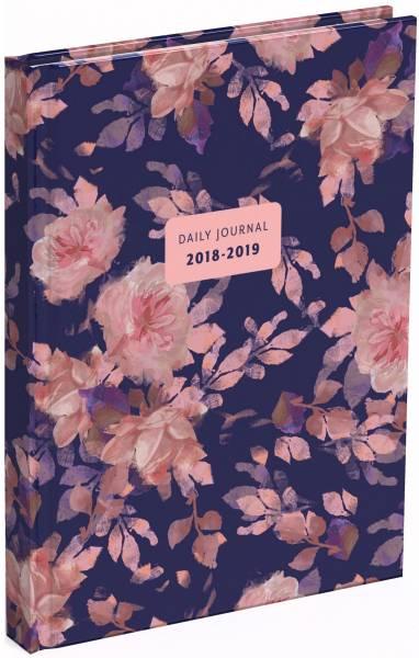 Agenda Flower 2018/2019: 13x18 cm