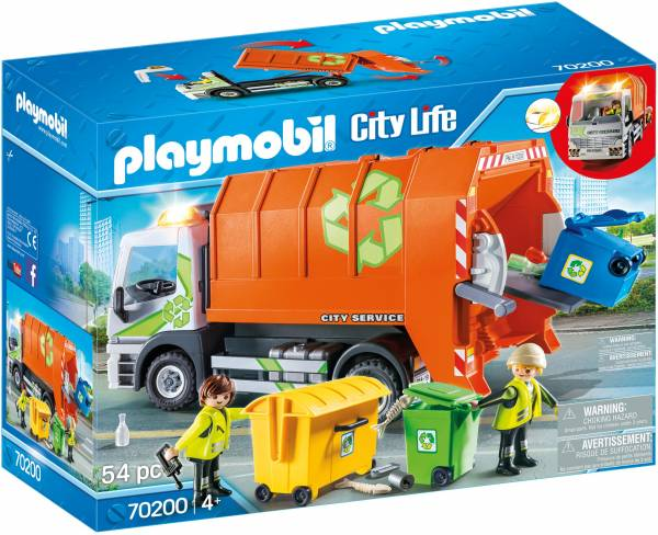 Vuilniswagen Playmobil (70200)