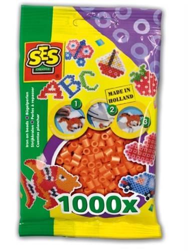 SES Strijkkralen oranje 1000 stuks