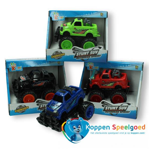 Stuntauto monstertruck