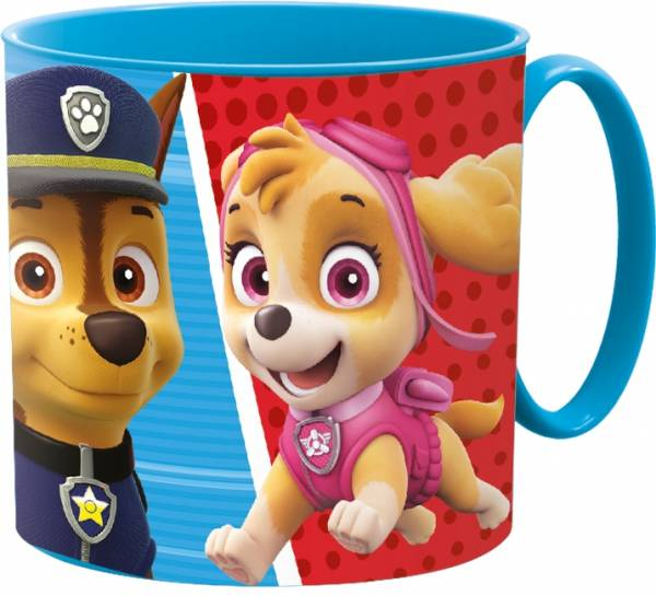Beker met handvat Paw Patrol Colors 265 ML