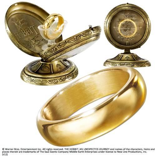 The One Ring met metalen display
