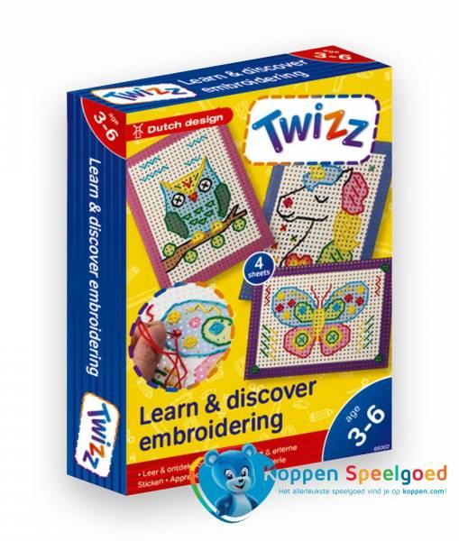 Twizz Leer en ontdek borduren