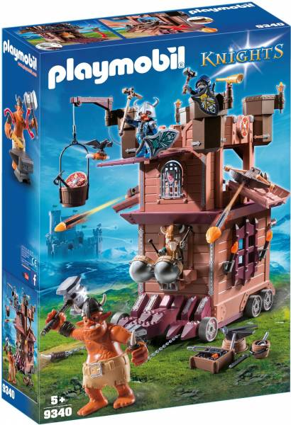 Mobiele aanvalstoren van de dwergen Playmobil (934 0)