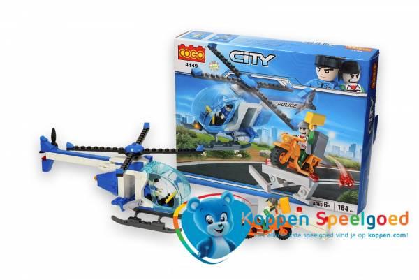 COGO politie helikopter met boef 164 delig